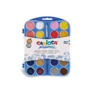 طقم الوان مائية 24 لون كاريوكا