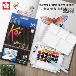 طقم الوان مائية 24 لون KOI
