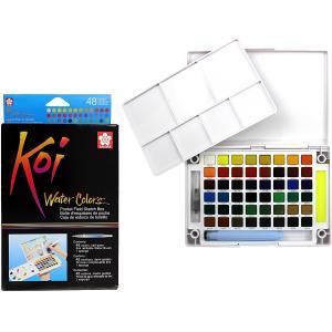 طقم الوان مائية 48 لون KOI