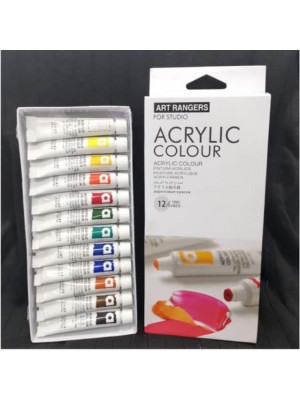 طقم اكريلك ١٢ لون  Art Rangers