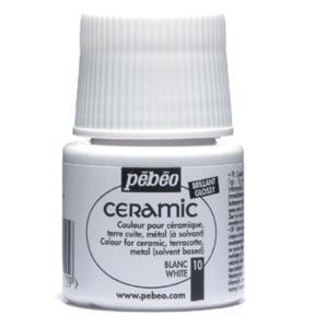 برطمان الوان سيرميك بيبيو ٤٥ مللي10 White