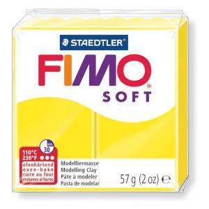 قطعة صلصال حرارى فيمو  SoftL emon Yellow -10