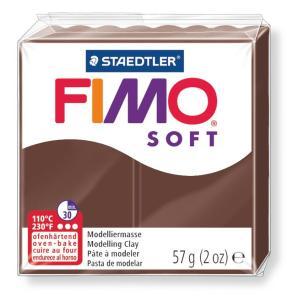 قطعة صلصال حرارى فيمو  Soft chocolate-75