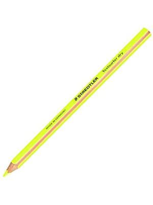 قلم رصاص الوان خشب نيون اصفر ستيدلر