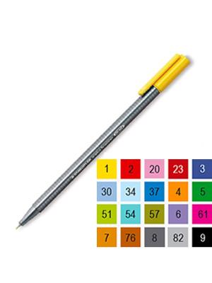 قلم فلومستر فاين لاينر ستيدلر 0.3 YELLOW