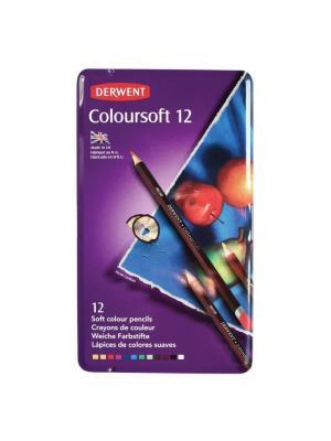 طقم ١٢ لون Derwent Coloursoft Pencils
