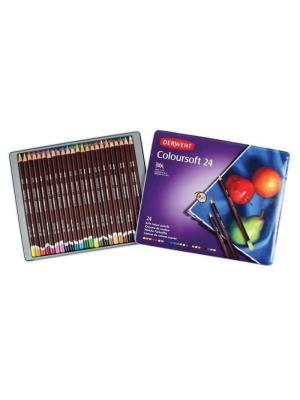 طقم ٢٤ لون Derwent Colorsoft Pencils