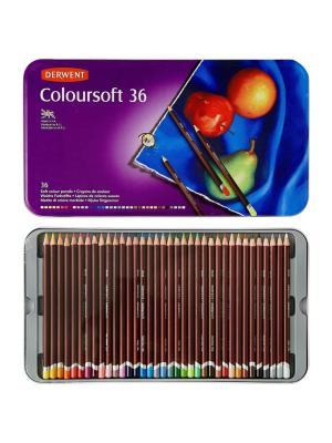 طقم 36 لون Derwent Coloursoft