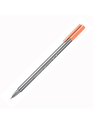 قلم فلومستر فاين لاينر ستيدلر  0.3  salmon