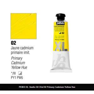 انبوابة زيت XL بيبيو 37 مللي - 02 Primary Cadmium Yellow Imit