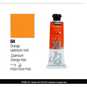 انبوابة زيت XL بيبيو 37 مللي -  CADMIUM ORANGE IMIT. (04)