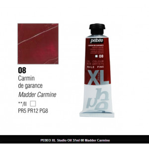 انبوابة زيت XL بيبيو 37 مللي - 08 Madder Carmine