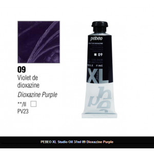 انبوابة زيت XL بيبيو 37 مللي -09 Dioxazine Purple