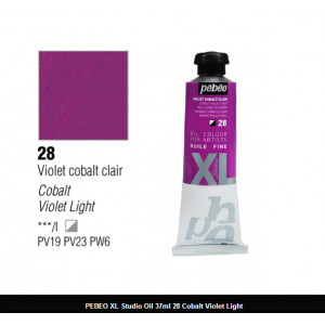انبوابة زيت XL بيبيو 37 مللي -  28 Cobalt Violet Light