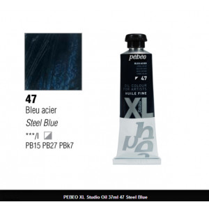 انبوابة زيت XL بيبيو 37 مللي - 47 Steel Blue