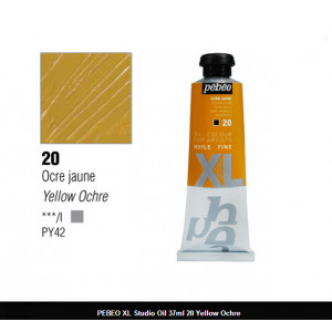 انبوابة زيت XL بيبيو 37 مللي - 20 Yellow Ochre