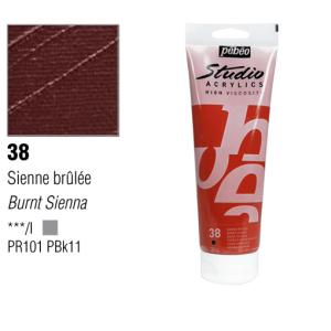 انبوابة اكريلك 100مللي بيبيو -    38 Burnt Sienna