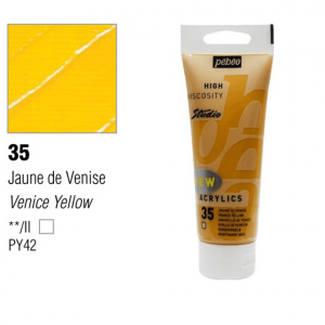 انبوابة اكريلك 100مللي بيبيو -  35 Venice Yellow