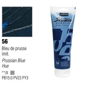 انبوابة اكريلك 100مللي بيبيو - 56 Prussian Blue Hue