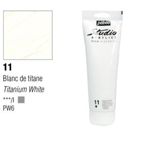 انبوابة اكريلك 100مللي بيبيو -11 Titanium White