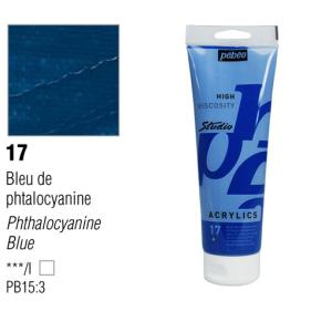 انبوابة اكريلك 100مللي بيبيو -17 Phthalocyanine Blue