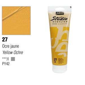 انبوابة اكريلك 100مللي بيبيو -27 Yellow Ochre