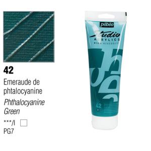 انبوابة اكريلك 100مللي بيبيو -42 Phthalocyanine Green
