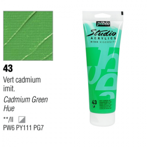 انبوابة اكريلك 100مللي بيبيو -43 Cadmium Green Hue