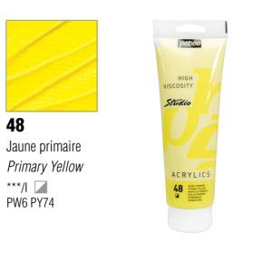 انبوابة اكريلك 100مللي بيبيو -48 Opaque Primary Yellow