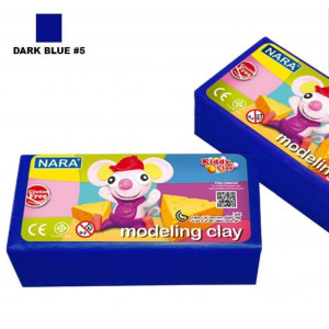 قطعه صلصال ٥٠٠ جرام NARA  DARK BLUE #5