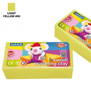 قطعه صلصال ٥٠٠ جرام NARA  LIGHT  YELLOW #90
