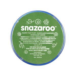 برطمان الوان وجه كلاسيكي SNAZAROO GRASS GREEN 18ML