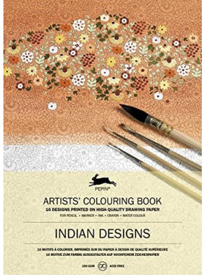 كتاب تلوين PEPIN Artists Indian Designs