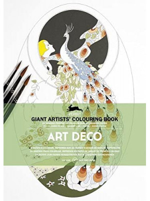 كتاب تلوين PEPIN GIANT ARTISTS ART DECO