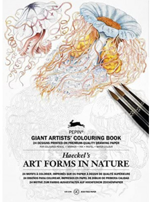 كتاب تلوين Artforms in Nature (Haeckel)