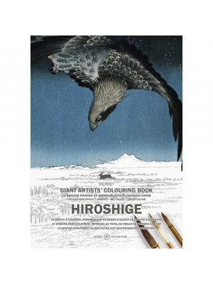 كتاب تلوين PEPIN Giant Artists'  Hiroshige