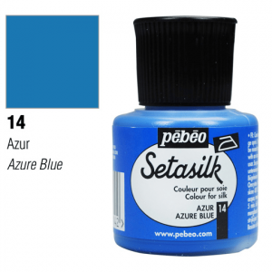 برطمان الوان حرير بيبيو ٤٥ ملليAzure Blue