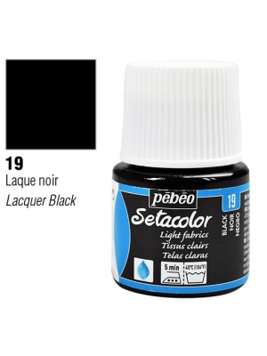 برطمان سيتاكولور ٤٥ مللي Light Fabrics 45ml 19 Black Lake