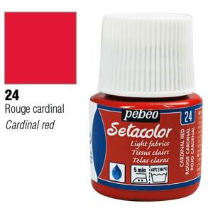 برطمان سيتاكولور 45مللي Light Fabrics 45ml 24 Cardinal Red