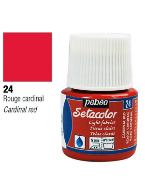 برطمان سيتاكولور ٤٥ مللي Light Fabrics 45ml 24 Cardinal Red