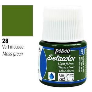 برطمان سيتاكولور 45ملليLight Fabrics 45ml 28 Moss Green