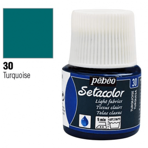 برطمان سيتاكولور 45ملليLight Fabrics 45ml 30 Turquoise