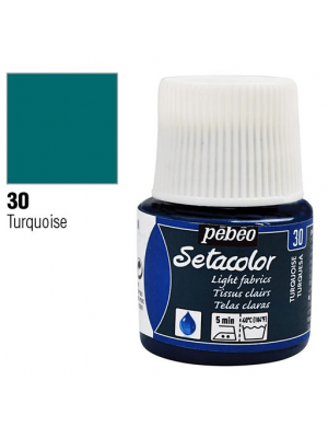 برطمان سيتاكولور ٤٥ ملليLight Fabrics 45ml 30 Turquoise