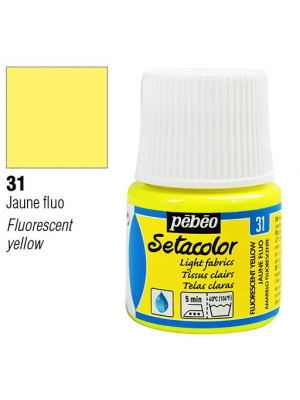 برطمان سيتاكولور ٤٥ ملليLight Fabrics 45ml 31 Fluorescent Yellow