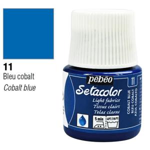 برطمان سيتاكولور 45ملليLight Fabrics 45ml 11 Cobalt Blue