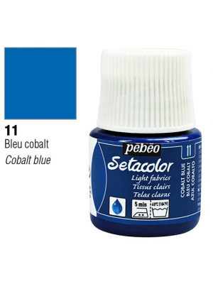 برطمان سيتاكولور ٤٥ ملليLight Fabrics 45ml 11 Cobalt Blue
