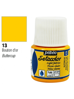 برطمان سيتاكولور ٤٥ ملليLight Fabrics 45ml 13 Butter Cup