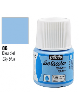 برطمان سيتاكولور ٤٥ ملليOpaque 45ml 86 Sky Blue