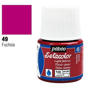 برطمان سيتاكولور 45ملليLight Fabrics 45ml 49 Fuchsia