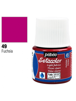 برطمان سيتاكولور ٤٥ ملليLight Fabrics 45ml 49 Fuchsia
